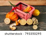 Small photo of addle fruits and vegetables