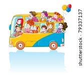 vector illustration  kids in... | Shutterstock .eps vector #79337137