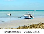 fishing boat at the sea | Shutterstock . vector #793372216