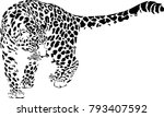 Black And White Vector Sketch...