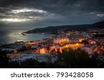 general panorama of the village ... | Shutterstock . vector #793428058