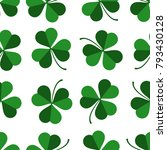 vector pattern with green...   Shutterstock .eps vector #793430128
