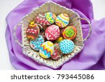 Cookies In The Shape Of Easter...