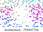 light multicolor  rainbow... | Shutterstock .eps vector #793447756