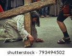 bucharest  romania   april 15 ... | Shutterstock . vector #793494502