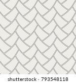 ornamental tiles seamless... | Shutterstock .eps vector #793548118