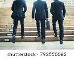 group of business people... | Shutterstock . vector #793550062