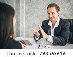 boss business man employer...   Shutterstock . vector #793569616