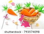 handmade packages in form of... | Shutterstock . vector #793574098