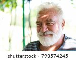 portrait of an adult white... | Shutterstock . vector #793574245