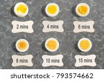 cooking time and degree of...   Shutterstock . vector #793574662