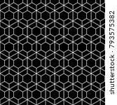 geometric seamless pattern.... | Shutterstock .eps vector #793575382