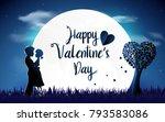 valentines day background....   Shutterstock .eps vector #793583086