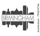 birmingham england united...   Shutterstock .eps vector #793614766