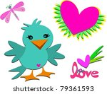 mix of love | Shutterstock .eps vector #79361593
