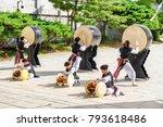 seoul  south korea   october 15 ... | Shutterstock . vector #793618486