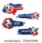 soccer championship or football ... | Shutterstock .eps vector #793619998