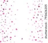 heart confetti beautifully... | Shutterstock .eps vector #793626205
