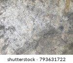 cement texture background   Shutterstock . vector #793631722