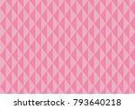 abstract picture with trapezoid ... | Shutterstock .eps vector #793640218