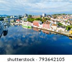 vagen old town aerial panoramic ...   Shutterstock . vector #793642105