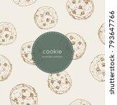 vector illustration cute... | Shutterstock .eps vector #793647766