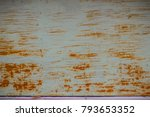 old weathered and scratched... | Shutterstock . vector #793653352