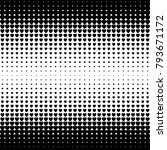 abstract halftone seamless... | Shutterstock .eps vector #793671172
