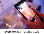 bangkok  thailand   january 11  ... | Shutterstock . vector #793686622