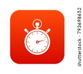stopwatch icon digital red for... | Shutterstock .eps vector #793698652