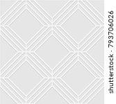 seamless pattern of rhombuses.... | Shutterstock .eps vector #793706026