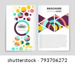 abstract vector layout...   Shutterstock .eps vector #793706272