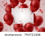 celebration and party... | Shutterstock .eps vector #793721308