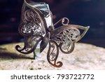 the work of jewelers. trial... | Shutterstock . vector #793722772