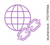 browser link url | Shutterstock .eps vector #793749466