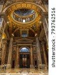 vatican city   september 10 ... | Shutterstock . vector #793762516