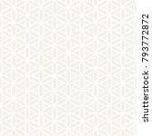 vector seamless subtle stripes... | Shutterstock .eps vector #793772872