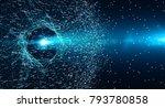 block chain network concept  ... | Shutterstock . vector #793780858