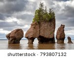 the flowerpot rock formations...