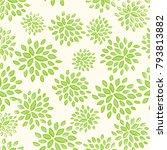 vector green pattern for eco... | Shutterstock .eps vector #793813882