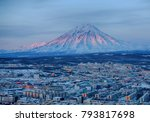 panoramic view of the city... | Shutterstock . vector #793817698