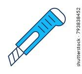 cutter stanley cut | Shutterstock .eps vector #793838452