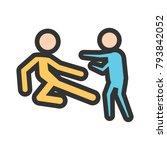 fight  fighting  battle | Shutterstock .eps vector #793842052