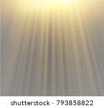 light flare special effect with ... | Shutterstock .eps vector #793858822