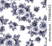 abstract elegance seamless... | Shutterstock .eps vector #793863622