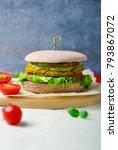 Small photo of Healthy vegan burgers, Vegan and Vegetarian Meal