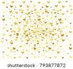 festive bright background for... | Shutterstock .eps vector #793877872