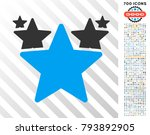 hit parade pictograph with 7... | Shutterstock .eps vector #793892905