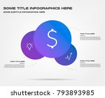 bubble of icon infographics.... | Shutterstock .eps vector #793893985