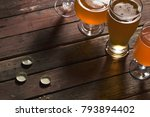 pale  dark  unfiltered pale and ... | Shutterstock . vector #793894402